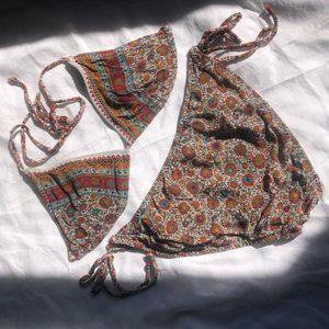 Vintage Malia Mills bikini size P